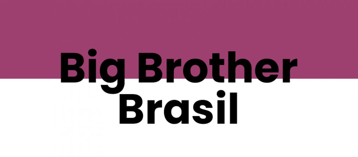 Capa do post escrito: big brother brasil
